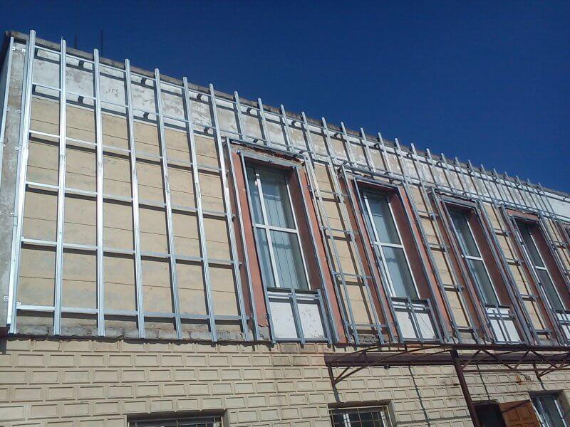 вентилируемый фасад хострок